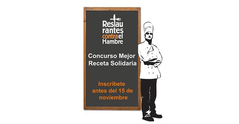 Concurso de recetas que alimentan para cocineros profesionales
