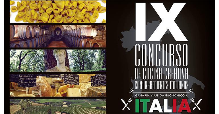 Concurso de recetas con productos italianos de Negrini