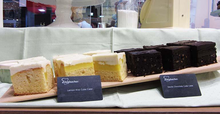 tartas con forma de cubo erlenbacher