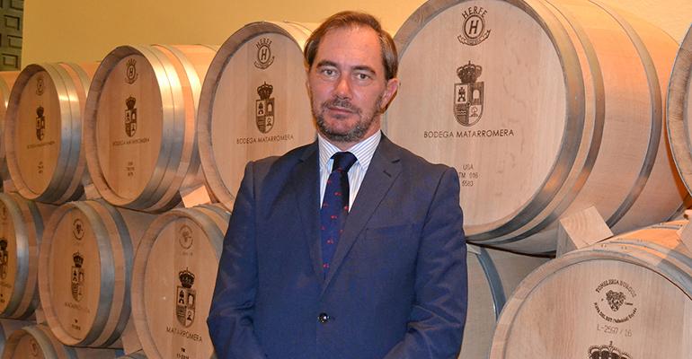 David de la Calle, director de Bodegas Matarromera