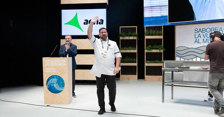 Dani García en Gastronomika San Sebastian