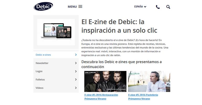 revista online Debic E-zine