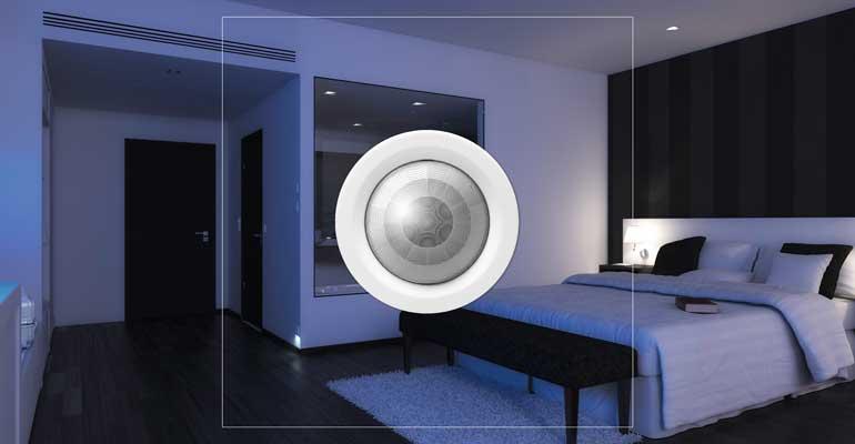 Detector de movimiento para el control de habitaciones en hotel