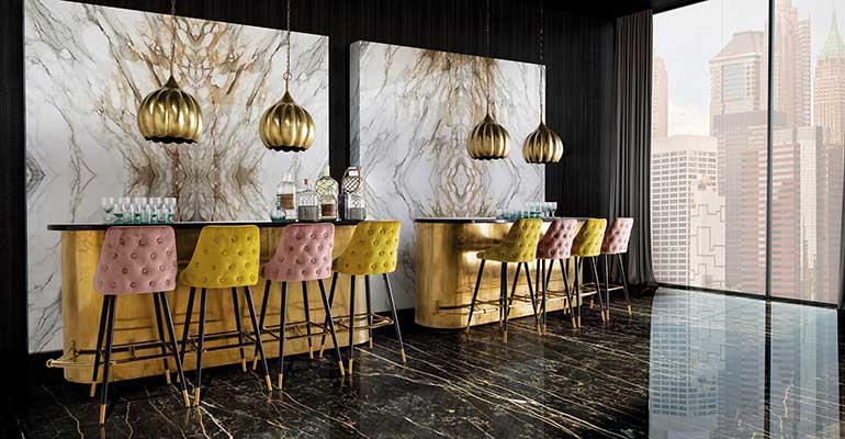 Mobiliario elegante y sofisticado