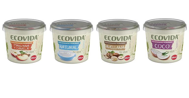 Yogures ecológicos de Dhul