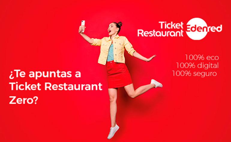 Edenred presenta Ticket Restaurant Zero, su primera tarjeta 100% virtual en España