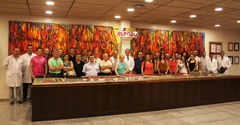 Visita ElPozo Alimentación restauración murciana