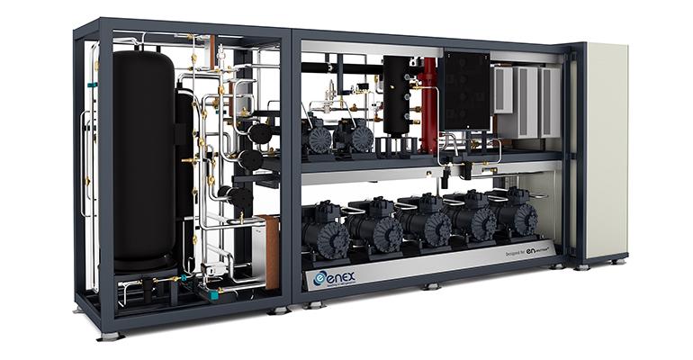 Sistema de Refrigeración CO2 de Enex, modelo Elba