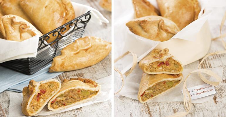 Empanadillas argentinas criolla y pollo de Berlys