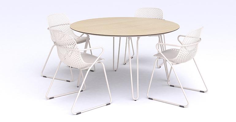 Conjunto de mobiliario exterior Grosfillex