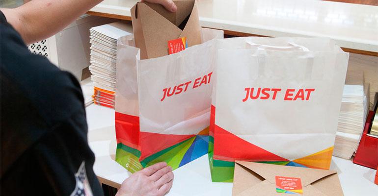 Envases biodegradables de Just Eat
