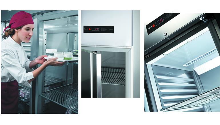 Equipamiento frío industrial para cocinas profesionales