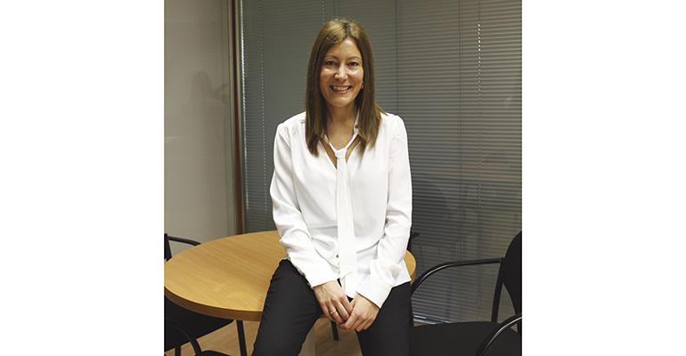 Esther Cano, directora comercial de Hygienalia