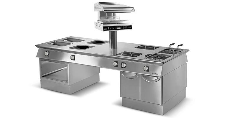 Cocinas horizontales Giorik de Eurofred