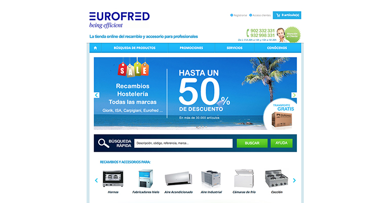 Eurofred tienda online