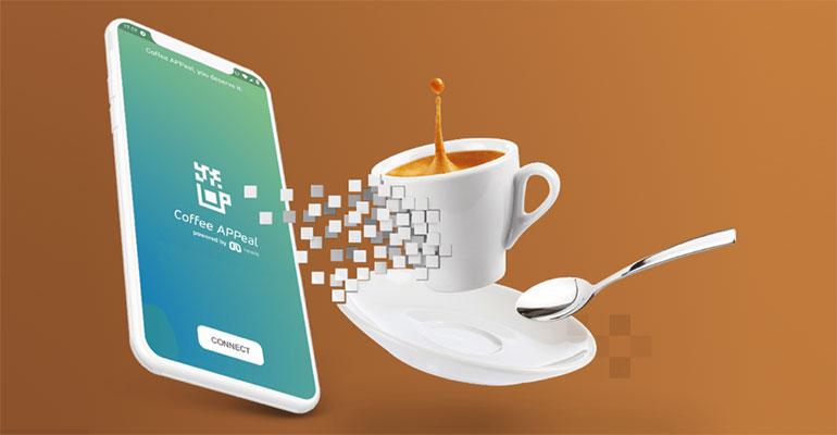 Evoca Group presenta una nueva app para elegir el café desde el móvil