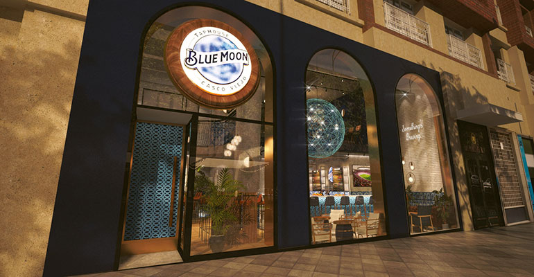 Exterior Blue Moon TapHouse
