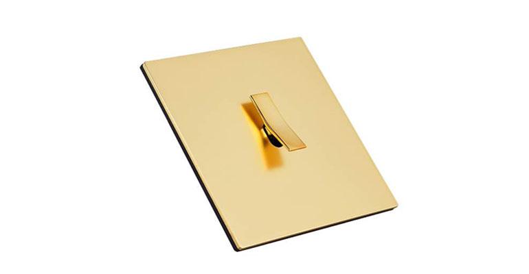 Font mecanismo acabado laton dorado