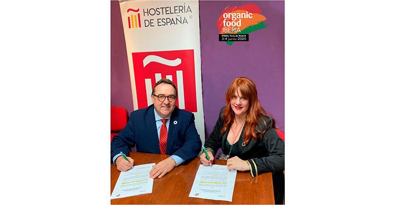 Organic Food Iberia y Hostelería de España fomentan el consumo de productos ecológicos