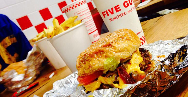 Five guys hamburgueserías