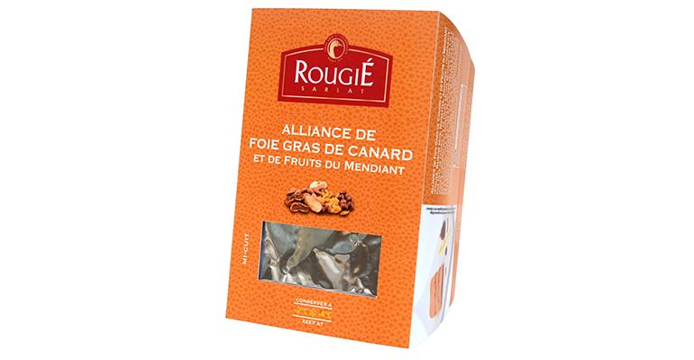 Foie gras entero con frutos secos en formato listo para consumir