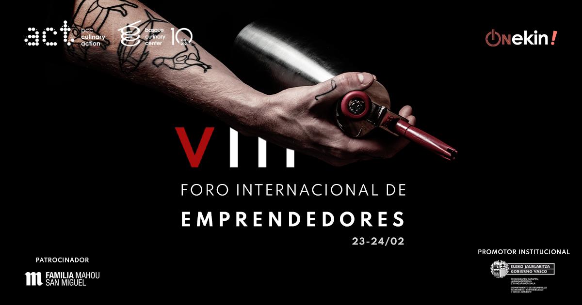 El Foro Internacional de Emprendedores de Culinary Action se abre al público para analizar la nueva gastronomía