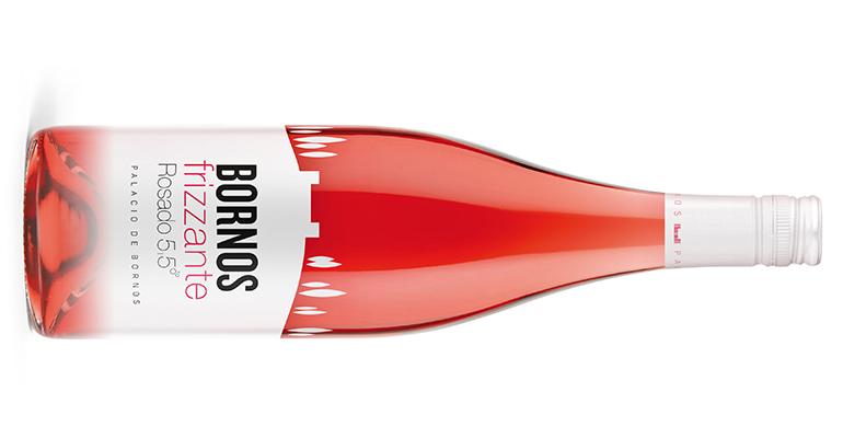vinos Palacio de Bornos Frizzante rosado