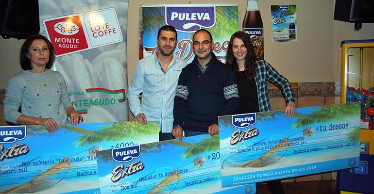 Ganadores de la campaña pide un deseo de Puleva