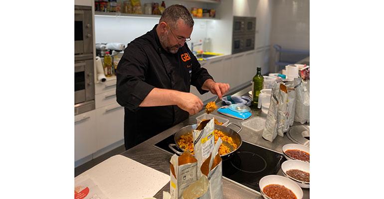 Ferran Climent, chef ejecutivo de Gallina Blanca Foodservice