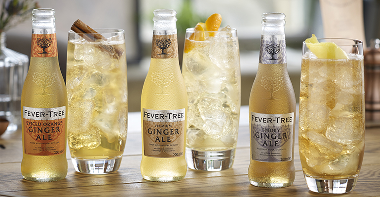•	Fever-Tree lanzará esta primavera dos nuevos mixers de Ginger Ale, 'Spiced Orange' y 'Smoky´