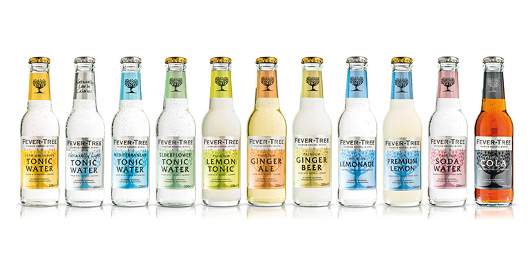 Gama productos fever tree