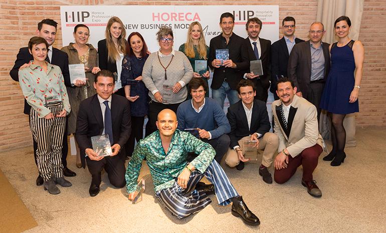 Ganadores y finalistas en los Horeca News Business Models Awards 2018