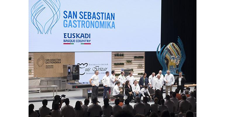 Homenaje a Arzak en San Sebastián Gastronomika