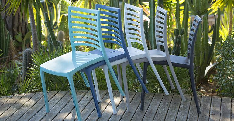 sillas de la serie Sunday