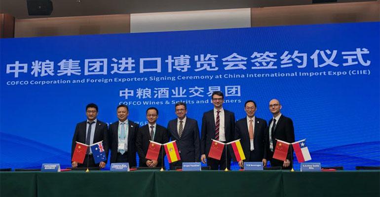 Faustino también está presente en 'China International Import Expo 2018'