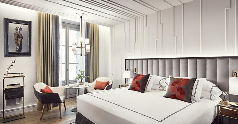 Las habitaciones del Gran Hotel Inglés