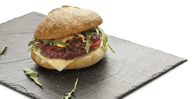 pan de hamburguesa rústico san brandán
