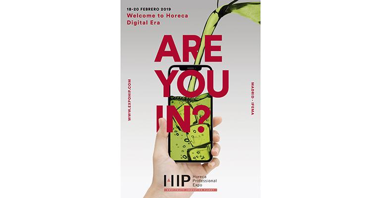 HIP 2019 presenta su nueva campaña para impulsar una Horeca digital