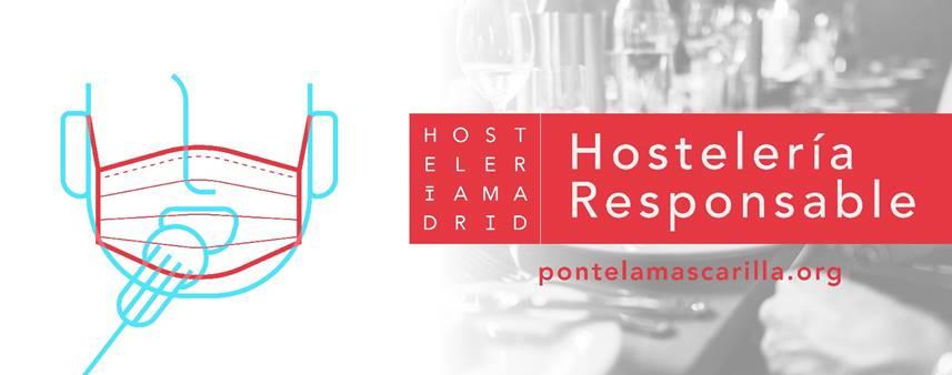 Los hosteleros de Madrid recuerdan a los clientes que sus acciones tienen un gran impacto en la prevención
