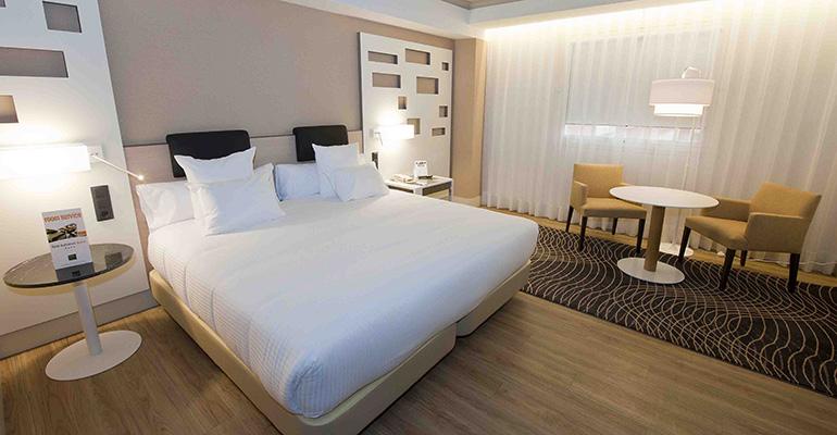 Habitaciones Hotel Auditorium de Madrid