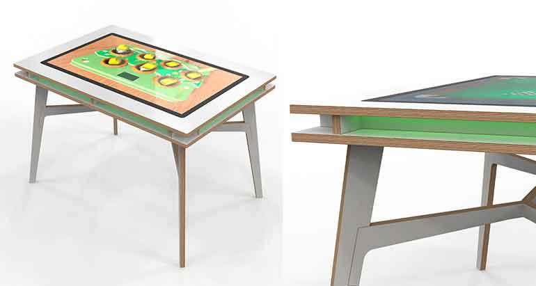 IKC Square mesa de juegos familiar