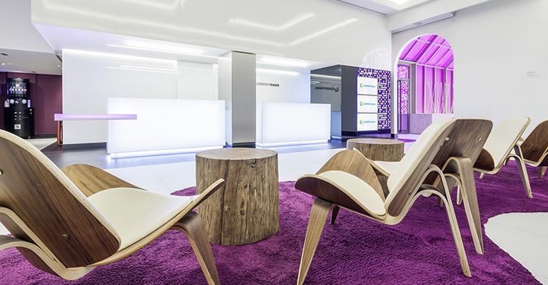 Instalaciones del hotel Ilunion Suites Madrid