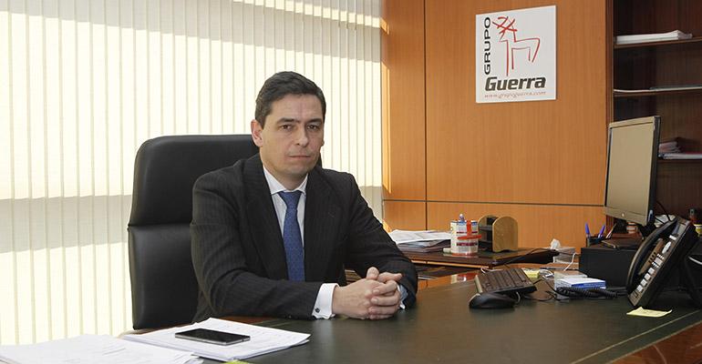 Ignacio Rivas, director general del Grupo Guerra