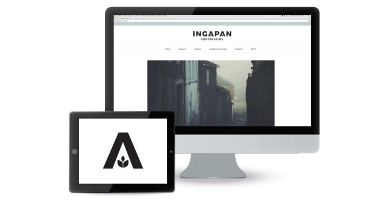 Nueva imagen en la web de Ingapan Corporación