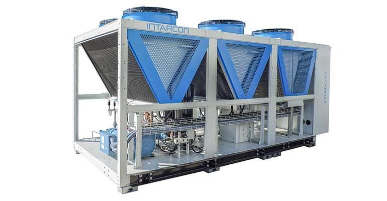 Intarcon desarrolla una gama de enfriadoras de amoníaco