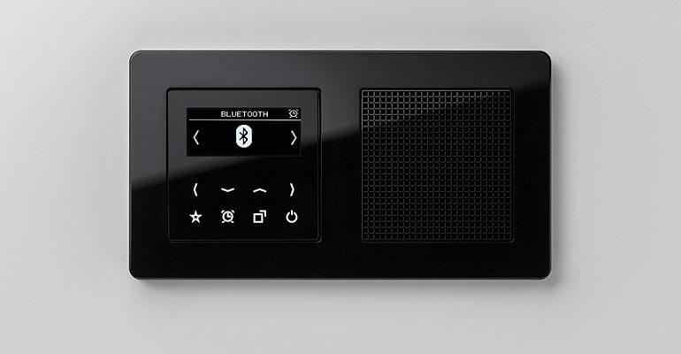 Radio empotrable de jung 2