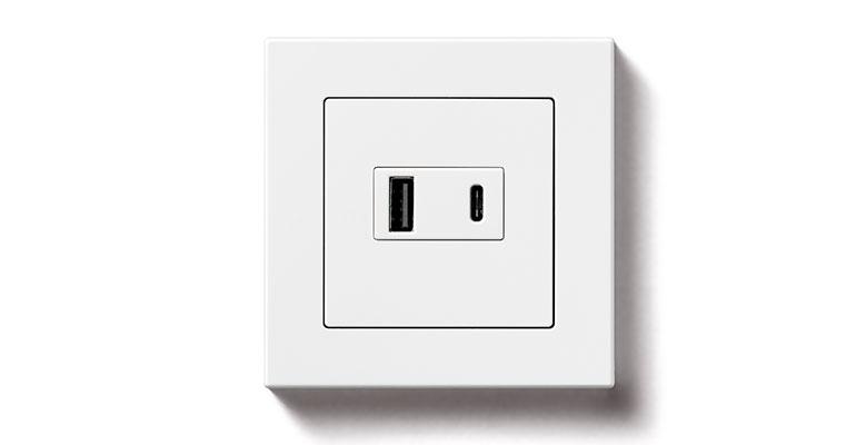 Enchufes con USB y carga rápida