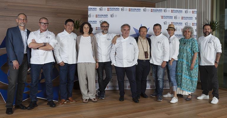 Jurado del Basque Culinary World Prize
