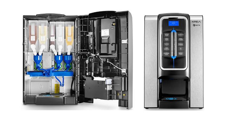 Nueva gama krea necta máquina de café interior