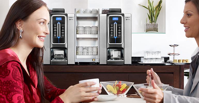 Nueva gama krea necta máquina de café